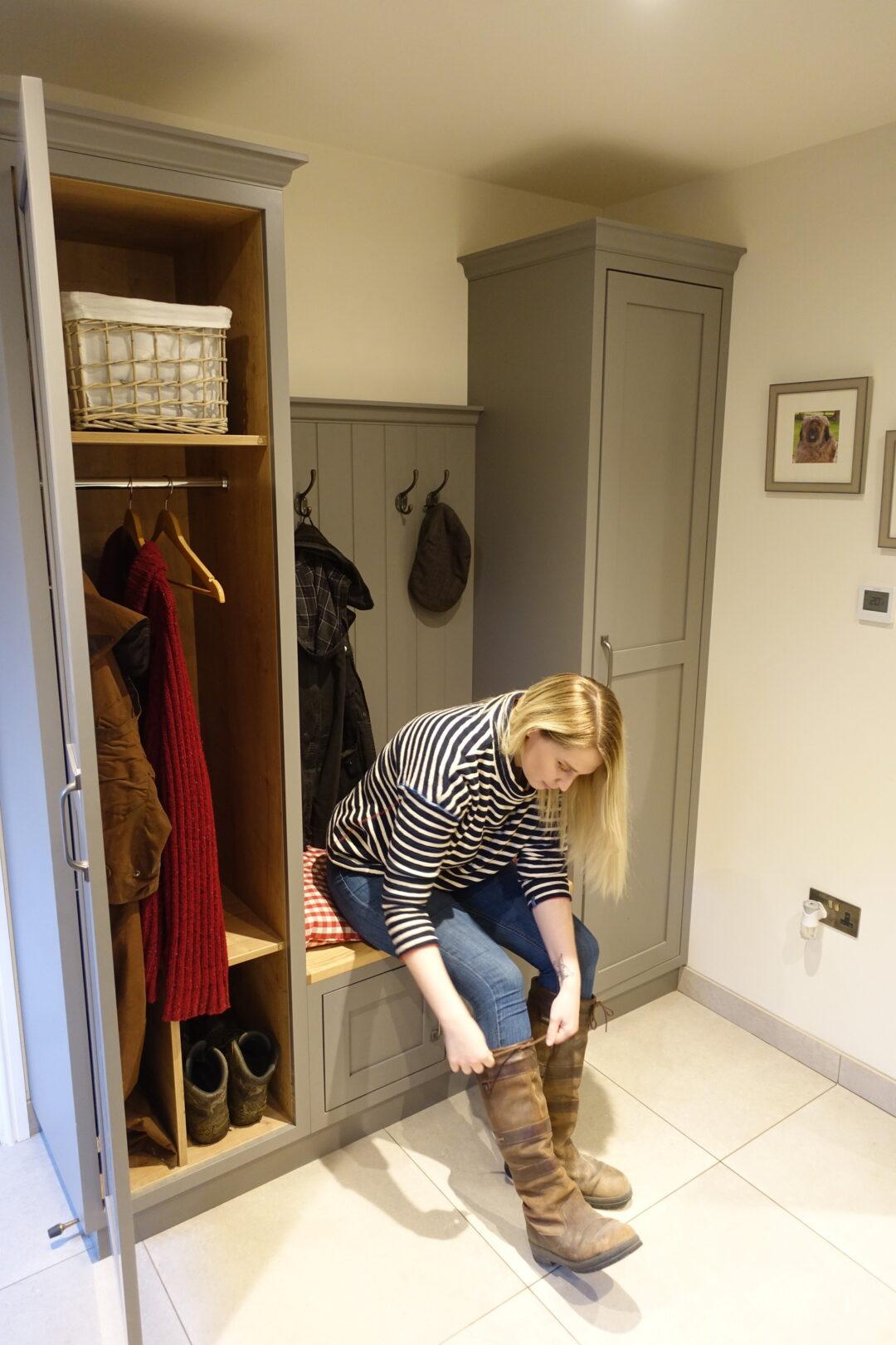 bespoke boot room