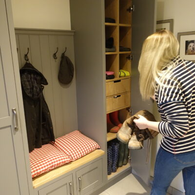 bespoke boot room